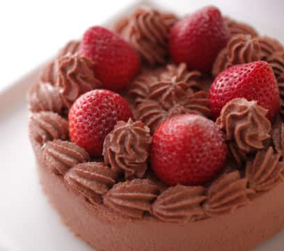 Chocolate Cake With Strawberry Size/3,300Yen(Incl. Tax)